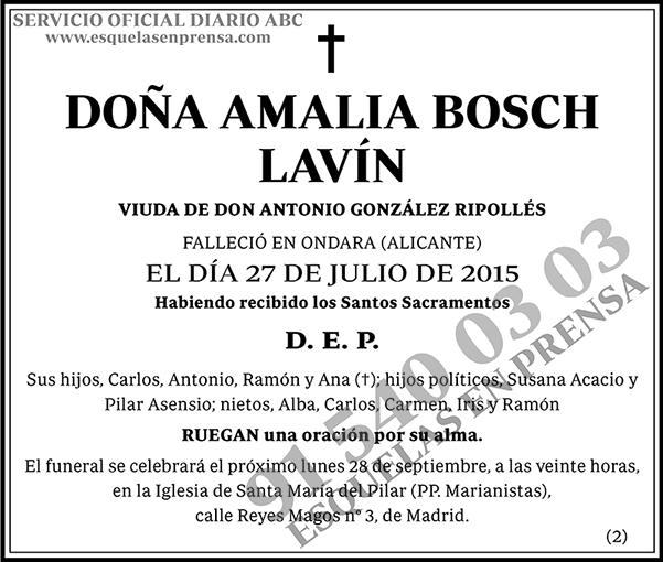 Amalia Bosch Lavín